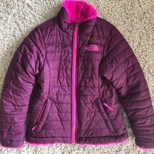 Girls The North Face Reversible Jacket